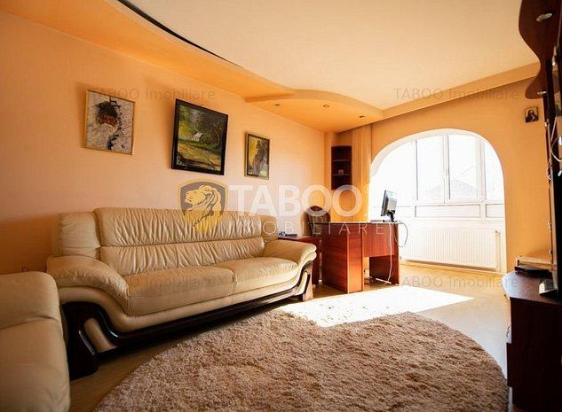 Apartament de vanzare mobilat utilat 2 camere in Sibiu Mihai Viteazul - imaginea 1