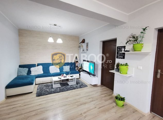 Apartament cu 3 camere 2 balcoane si gradina de vanzare Sibiu Turnisor - imaginea 1