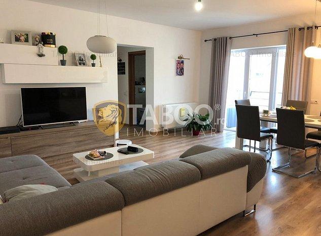 Apartament de vanzare 3 camere 74 mp utili etaj 2 zona Selimbar - imaginea 1