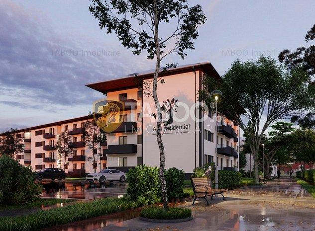 Apartament de vanzare 3 camere 2 bai gradina proprie in Selimbar - imaginea 1
