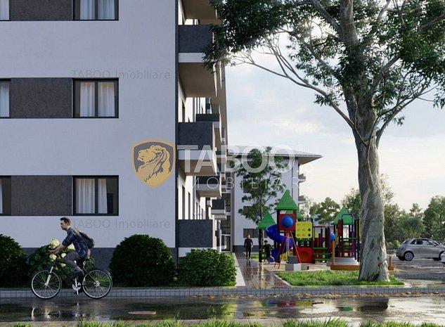 Apartament de vanzare 3 camere si cu gradina 90mp in Selimbar - imaginea 1