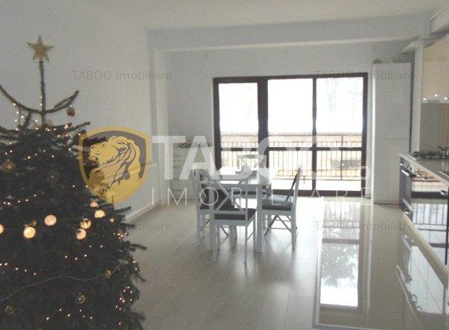 Apartament modern 3 camere 2 bai de inchiriat Parcul Sub Arini Sibiu - imaginea 1