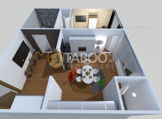 Apartament cu loc de parcare de vanzare Sibiu Cartierul Arhitectilor - imaginea 1