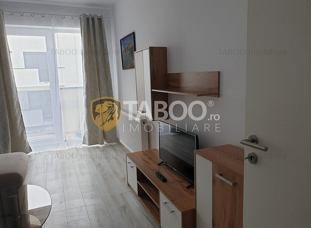 Apartament Sibiu zona Turnisor de inchiriat 2 camere si loc de parcare - imaginea 1