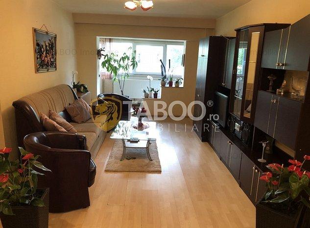 Apartament de vanzare 3 camere 2 bai zona Centrala Sibiu - imaginea 1