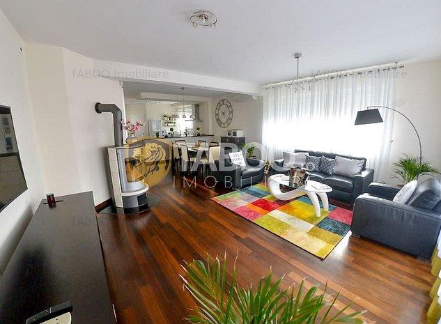 Casa mobilata utilata modern 7 camere si garaj zona Parcul Sub Arini - imaginea 1