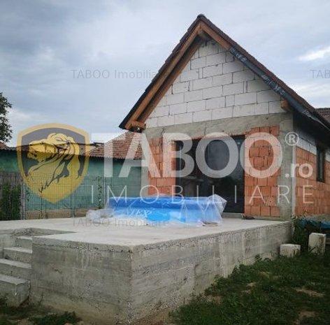 Casa cu 4 camere si 806 mp teren zona Gusterita Sibiu - imaginea 1