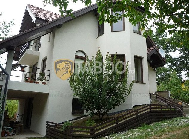 Casa individuala de vanzare 5 camere teren 2000 mp in Cisnadie Sibiu - imaginea 1