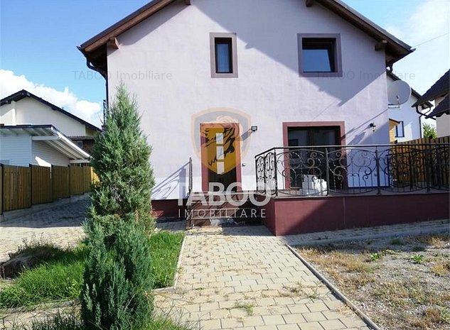 Casa singur in curte cu 5 camere si 340 mp teren in zona de est Sibiu - imaginea 1