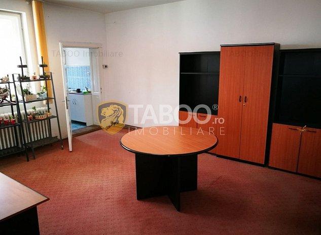 De inchiriat spatiu de birouri la casa Sibiu zona Calea Dumbravii - imaginea 1
