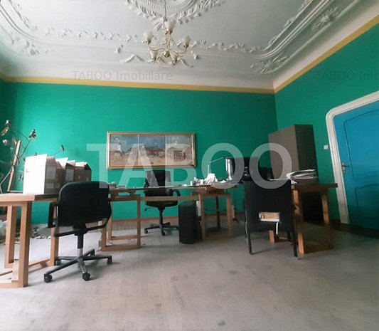 Spatiu birouri de inchiriat 114 mp in Sibiu zona Nicolae Balcescu - imaginea 1