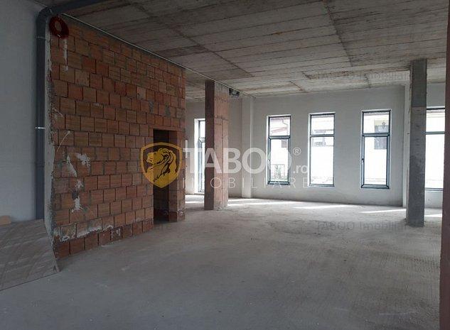 Spatiu comercial de inchiriat constructie noua Calea Dumbravii Sibiu - imaginea 1