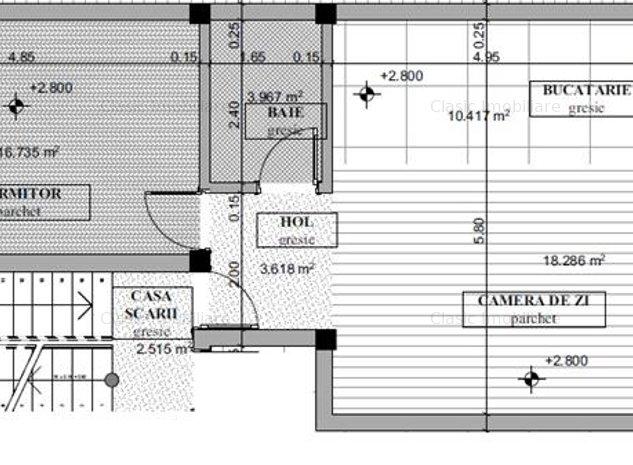 Vanzare apartament 2 camere zona capat Donath, Cluj-Napoca - imaginea 1