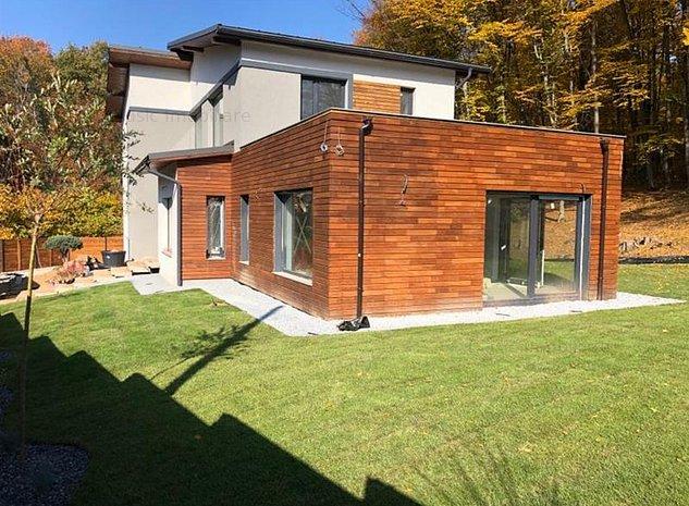 Vanzare casa individuala cu teren 2200 mp zona Vila Tusa Faget, Cluj-Napoca - imaginea 1