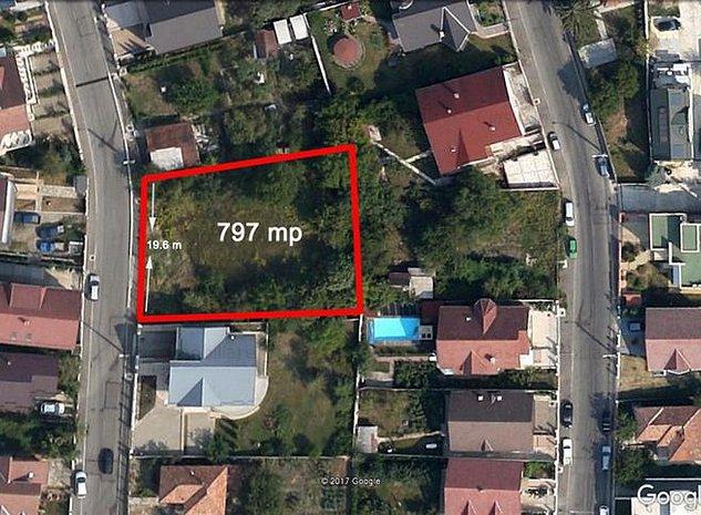 Vanzare 797 mp teren zona A.Muresanu, Cluj-Napoca - imaginea 1