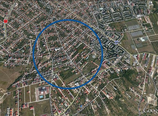 Teren autorizat pentru casa individuala zona A.Muresanu, - imaginea 1