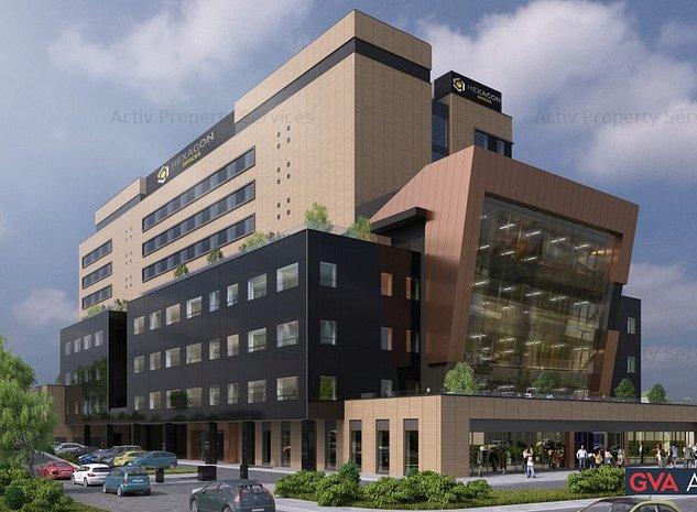 Hexagon Office, Calea Turzii 178K - comision 0%, reprezentam proprietarul! - imaginea 1