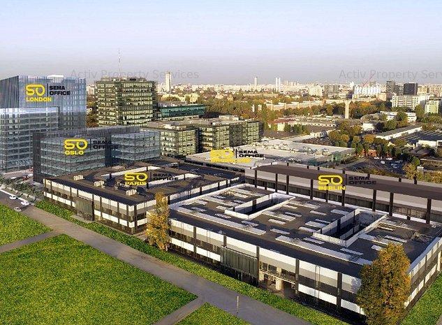 Sema Office-Cladirea Oslo, Grozavesti - comision 0%, reprezentam proprietarul! - imaginea 1