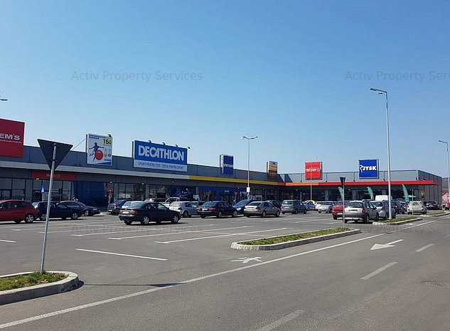 Spatii comerciale de inchiriat Bistrita Retail Park - imaginea 1