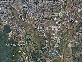 Teren constructii de vânzare, în Cluj-Napoca, zona Faget