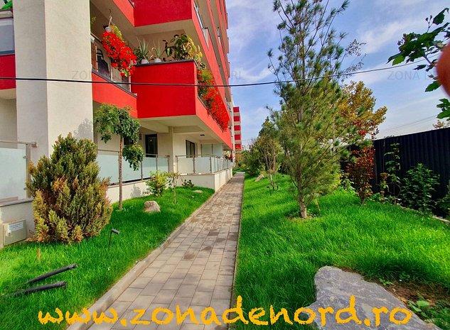 Baneasa-Sisesti, un apartament deosebit, cu terasa, curte si parcare in subteran - imaginea 1