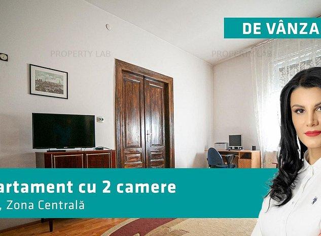 Apartament 2 camere la casa, zona centrala - imaginea 1