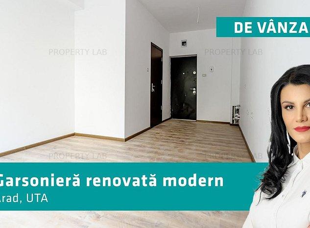 Garsoniera renovata modern in zona UTA - imaginea 1