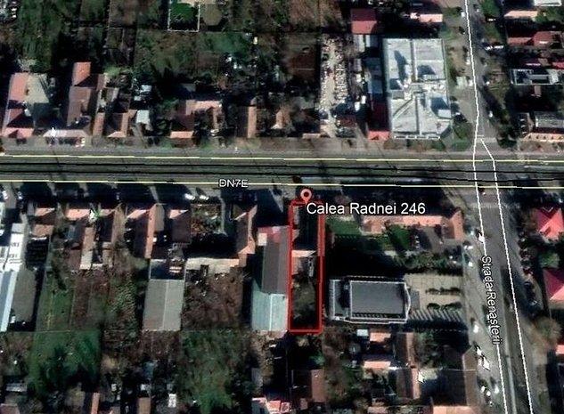 Casa cu teren generos de 1.044 mp Calea Radnei. - imaginea 1