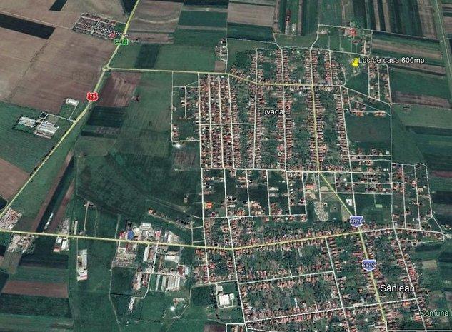 Teren 601mp Livada / Soseaua 682H - imaginea 1