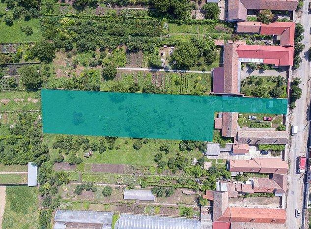 Teren de vanzare 2254 mp in Aradul Nou - imaginea 1