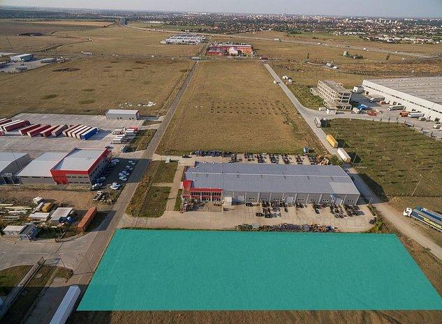 Teren in zona Industriala Sud- Aradul Nou - imaginea 1