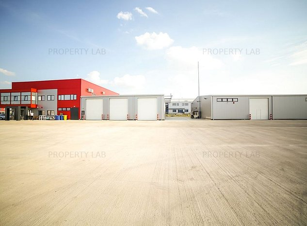 Hala industriala 600 mp - imaginea 1