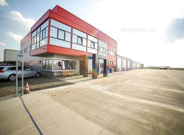 Spatiu de birouri de 440 mp zona industriala Aradul Nou - imaginea 1