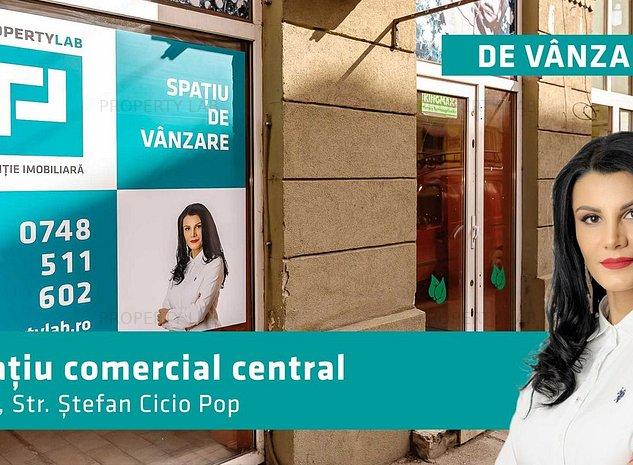 Spatiu comercial, investitie ideala zona centrala - imaginea 1