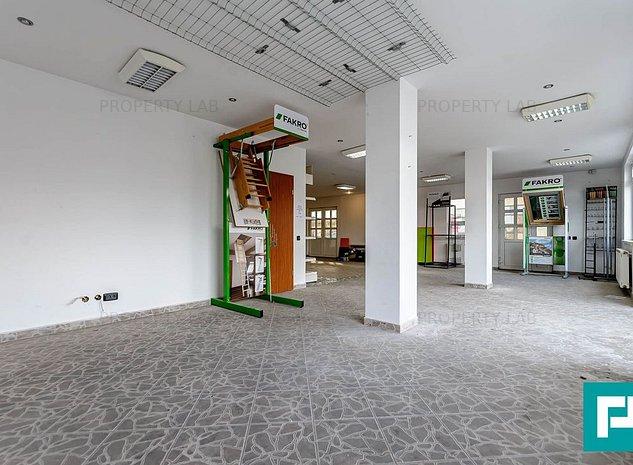 Spatiu comercial, depozit, curte betonata - imaginea 1