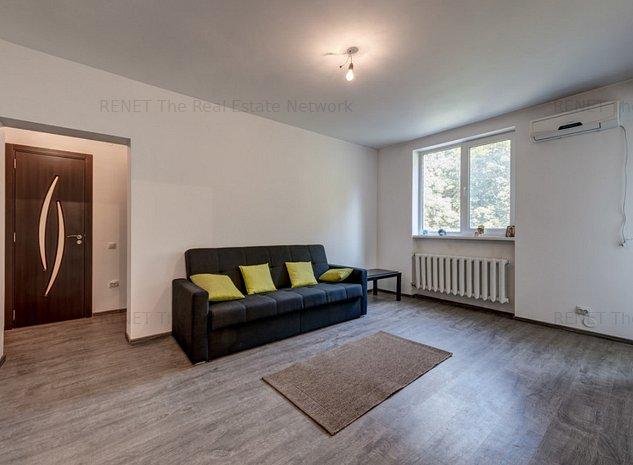 Apartament spatios de 3 camere, langa parc si metrou Piata Muncii! - imaginea 1