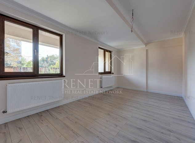 Apartament 3 camere parter bloc nou Parc Bazilescu - imaginea 1