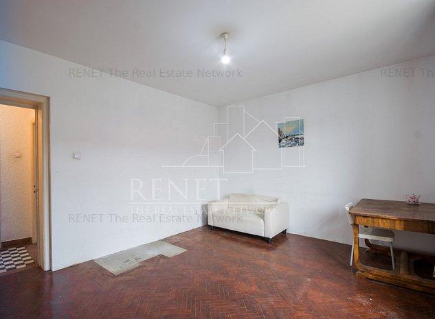 Floreasca, str. Bartok Bela, apartament doua camere. comision 0 - imaginea 1