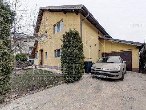 Vila cu arhitectura de munte adusa in Sudul Bucurestiului Comision 0% - imaginea 1
