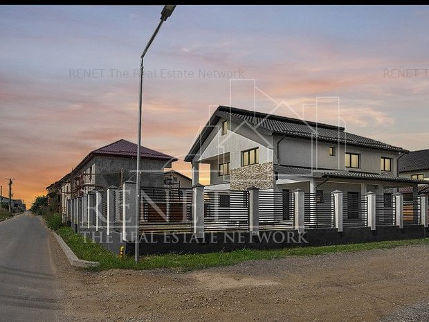 Bragadiru- Vila p+1 - lot teren 680 mp - constructie 2018 - imaginea 1