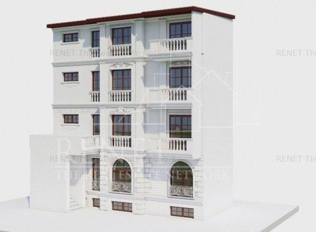 Casa single cu autorizatie de constructie (inaltare, mansardare) Parcul Cismigiu - imaginea 1