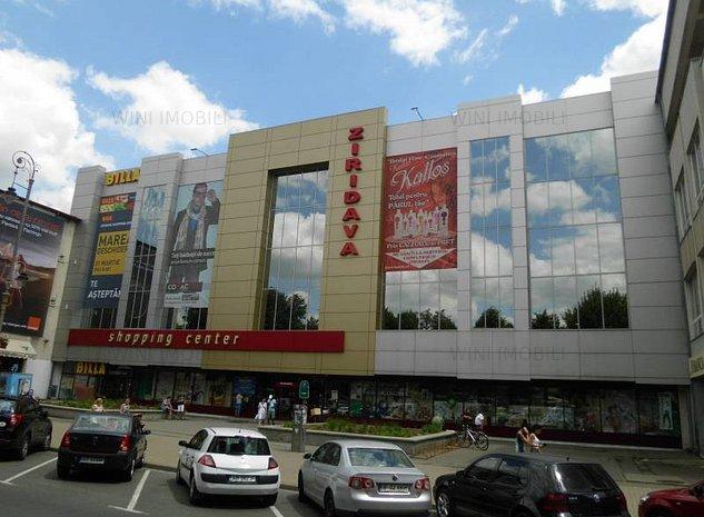 Spatii comerciale ZIRIDAVA Shopping Center 23 - 79 mp Etaj 2 comision 0 - imaginea 1