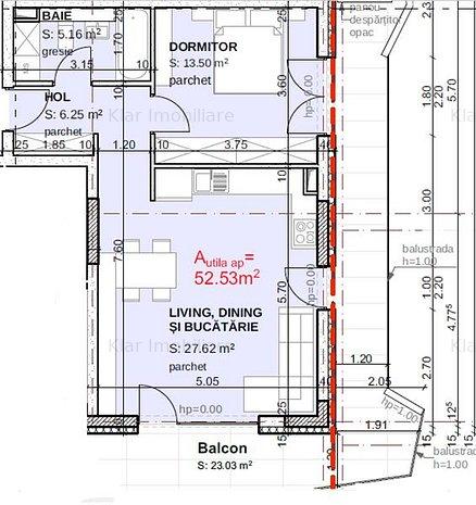 Apartament 2 camere bloc nou la 10 minute de Iulius Mall - imaginea 1