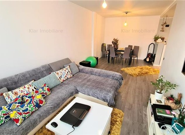 Apartament modern 2 camere 55mp,balcon,parcare, Dambul Rotund - imaginea 1
