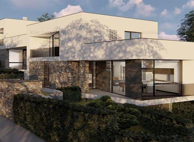 Duplex cu design modern si materiale premium - imaginea 1