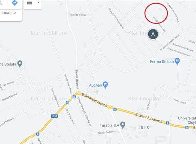Teren intravilan cu PUZ in lucru in cartier Iris, Valea Fanatelor (650mp) - imaginea 1
