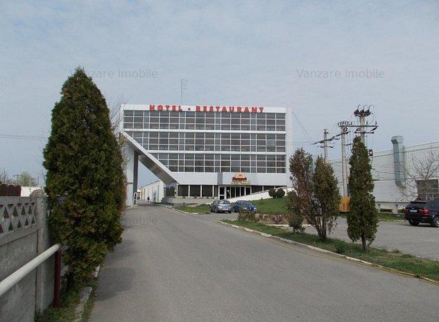 Hotel 26 camere, 2 hale 2834 mp si teren 9243 mp - imaginea 1