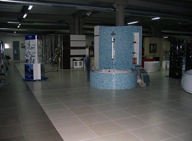 Inchiriez Showroom parter 1000mp, open space, deschidere la DN65B - imaginea 1
