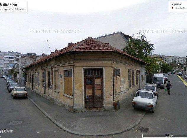 Teren 461 mp Cuza Voda colt cu Alexandru Balasoiu ideal investitie - imaginea 1