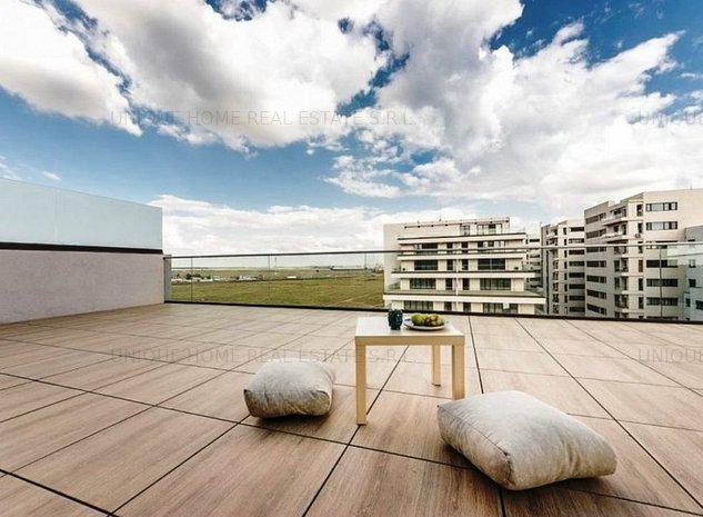 Pipera: Apartament deosebit cu 3 camere, langa Scoala Americana - imaginea 1